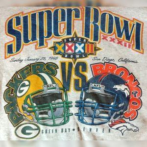 Vintage Superbowl XXXII Logo Sweatshirt
